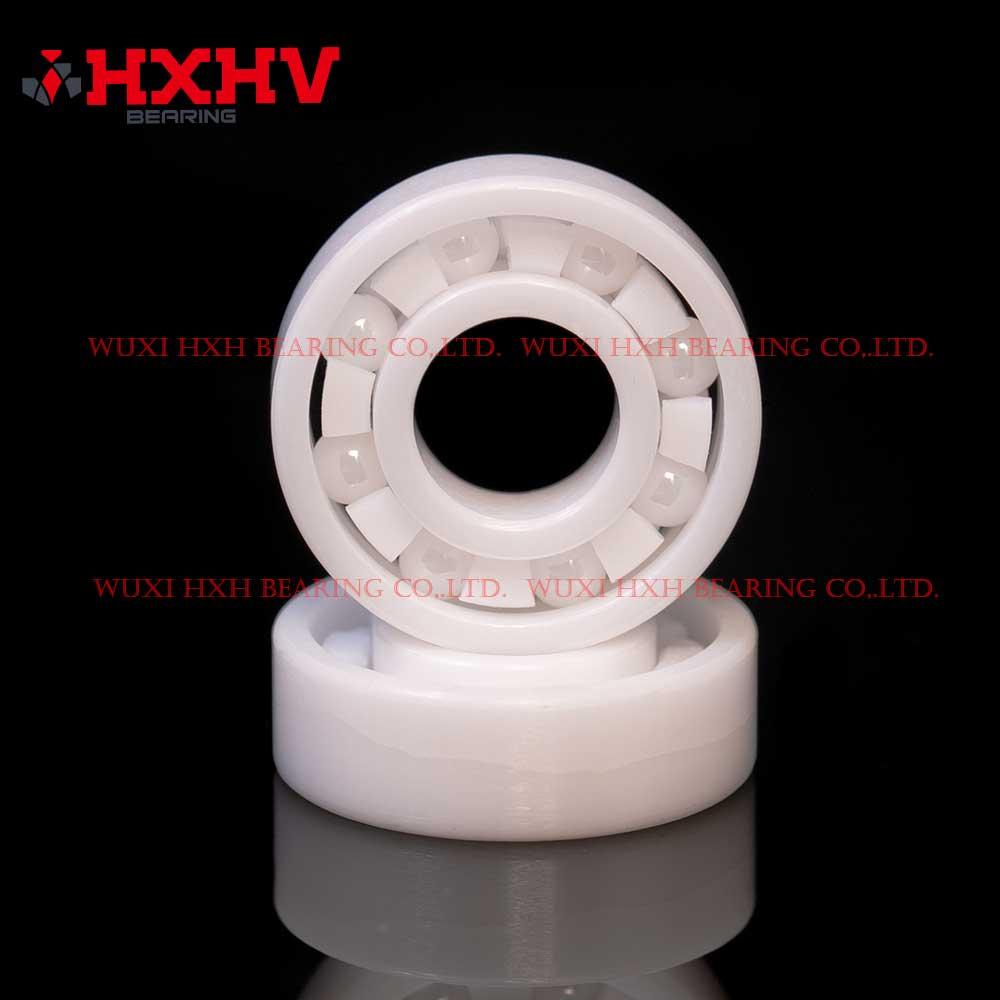 HXHV full ceramic ball bearings 698 with 8 ZrO2 balls and PTFE retainer (1)