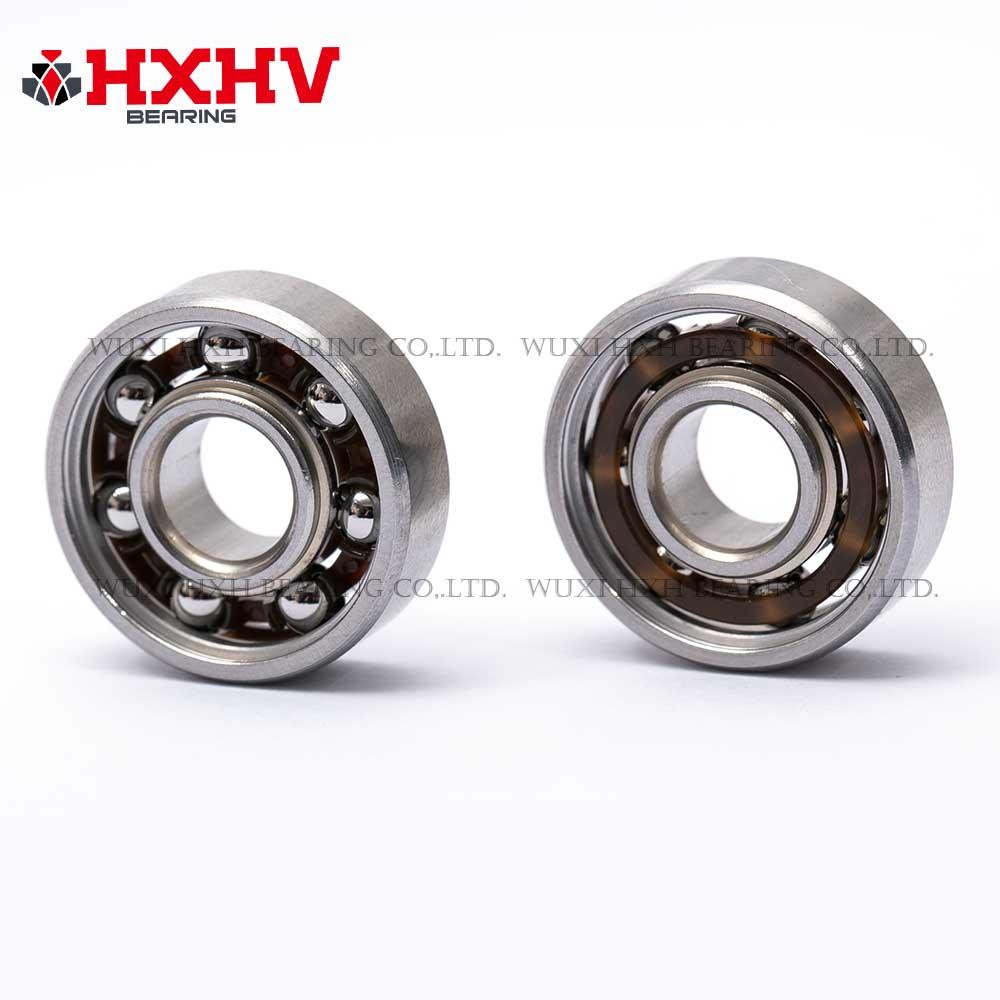 HXHV stainless steel bearing 608zz with nylon retainer (3)