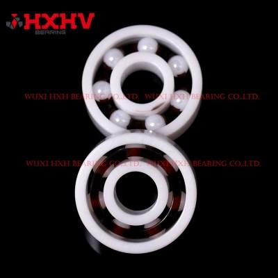 HXHV full ceramic ball bearings 608 with 7 ZrO2 balls and nylon retainer