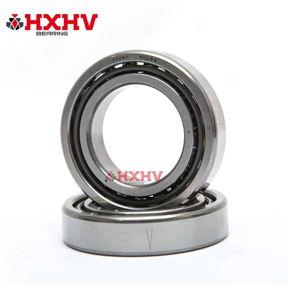 7008C HXHV Angular Contact Ball Bearings with size 40x68x15 mm