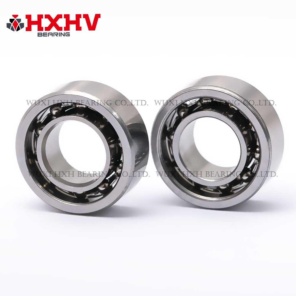 HXHV hybrid ceramic bearing 608 with 10 Si3N4 balls steel rings and crown steel retainer (3)