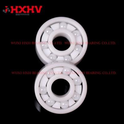 HXHV full ceramic ball bearings 608 with 7 ZrO2 balls and PTFE retainer