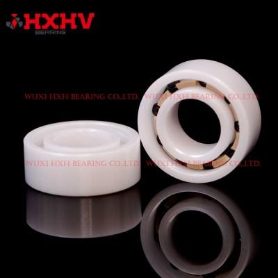 HXHV full ceramic ball bearings R188 with 9 Si3N4 balls ZrO2 rings and PEEK retainer