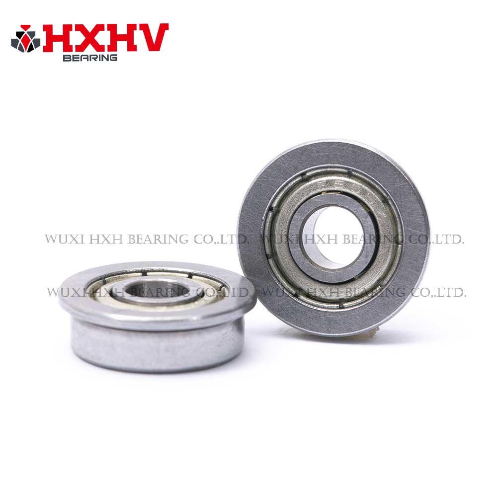 F605zz 5x14x5 mm - HXHV Miniature Flanged Ball Bearing (2)