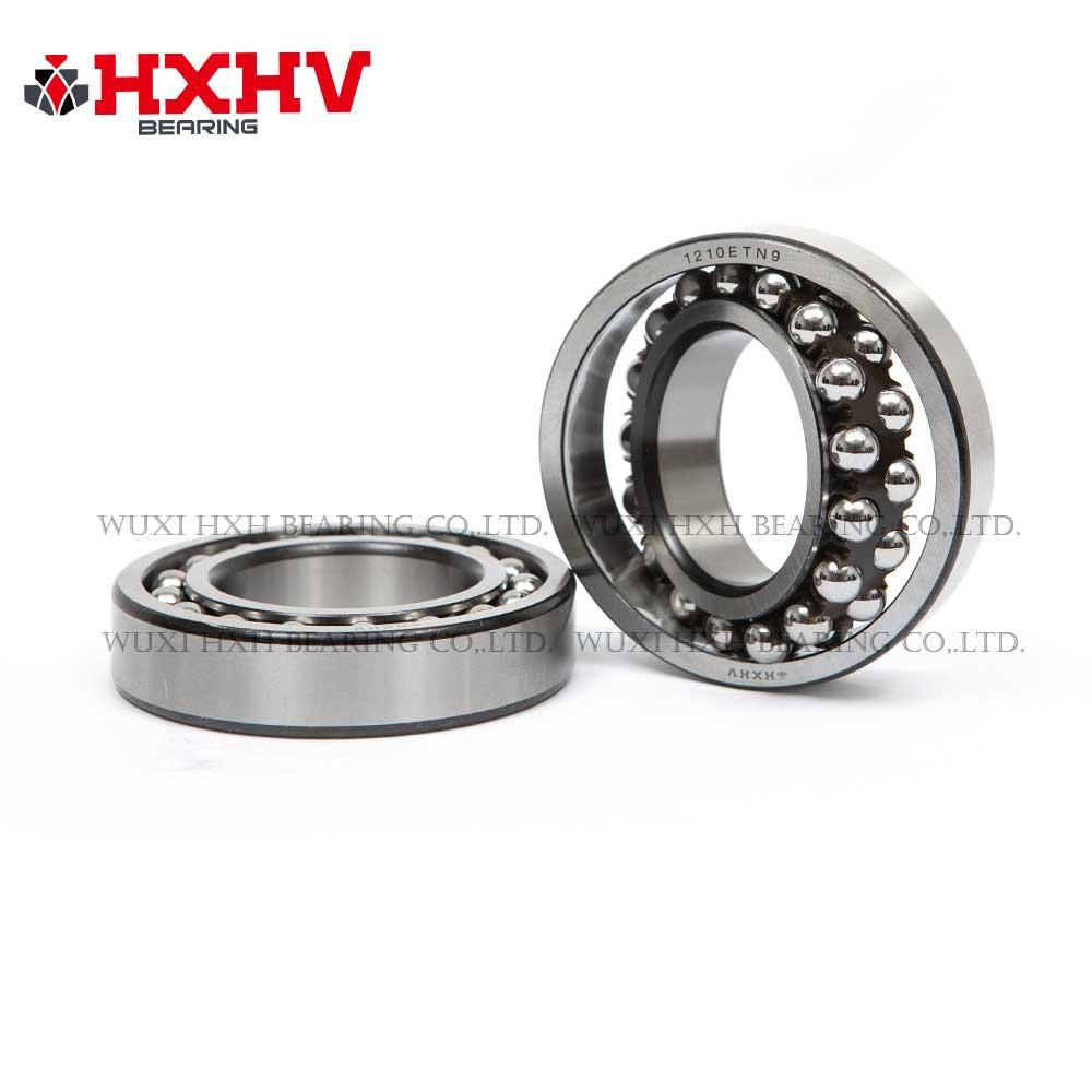 HXHV Self-aligning ball bearings 1210 ETN9 with black edge and nylon retainer (1)