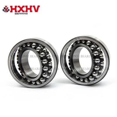 HXHV Self-aligning ball bearings 1210 with black steel retainer