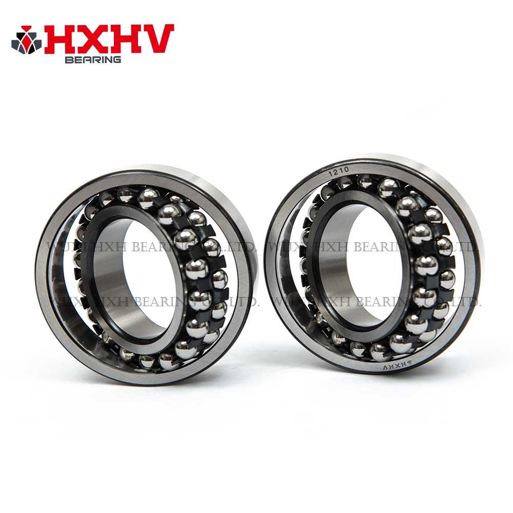 HXHV Self-aligning ball bearings 1210 with black steel retainer (2)