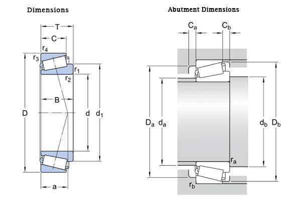 HXHV-Single-Row-Tapered-Roller-Bearings-30204