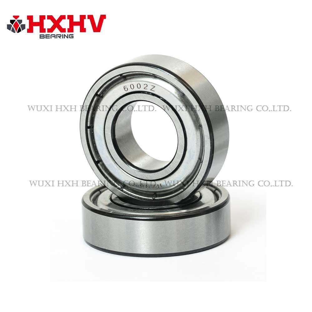 HXHV bearing 6002-zz deep groove ball bearing with black edge