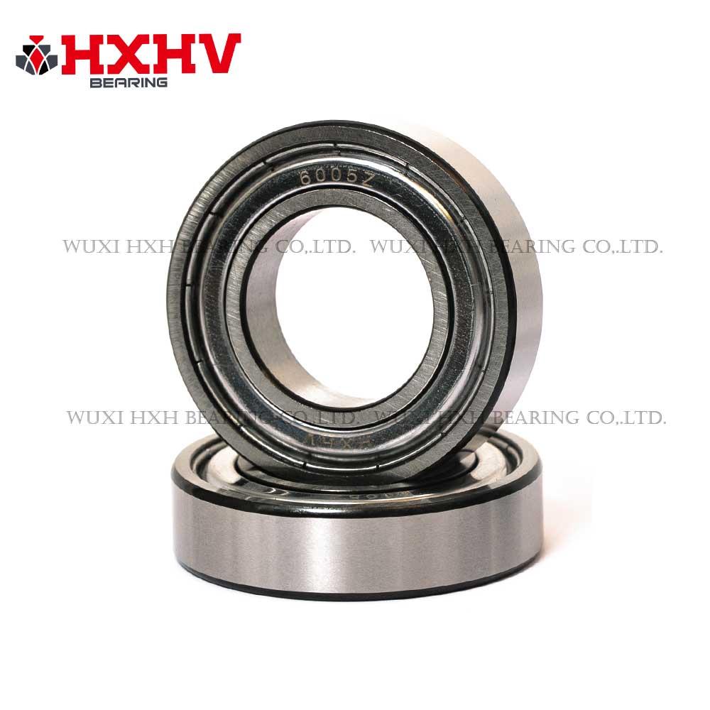HXHV bearing 6005-zz deep groove ball bearing with black edge