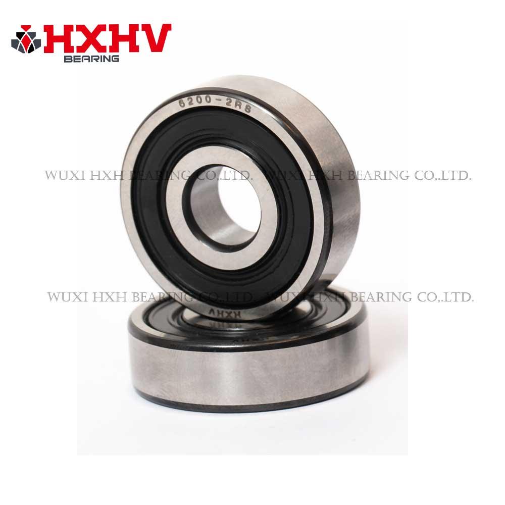 HXHV bearing 6200-2RS deep groove ball bearing with black edge