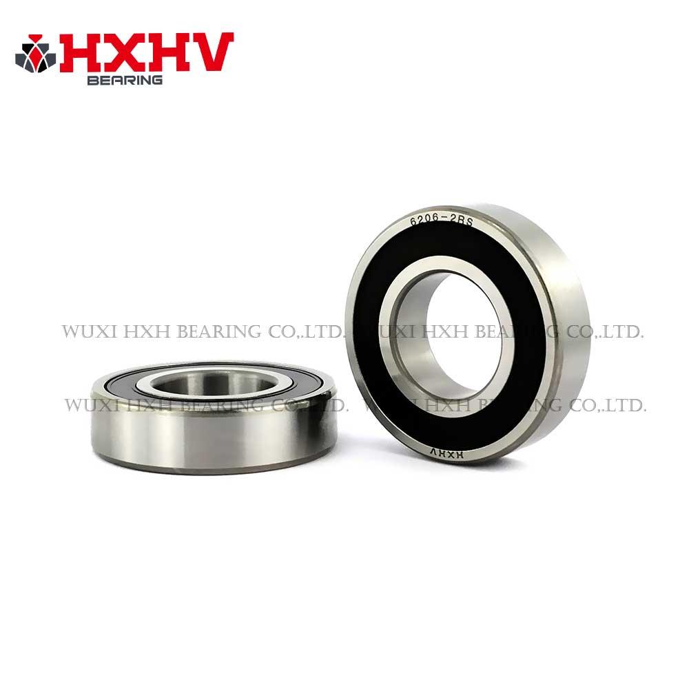 HXHV bearing 6206-2RS single row deep groove ball bearing 30x62x16 mm (2)