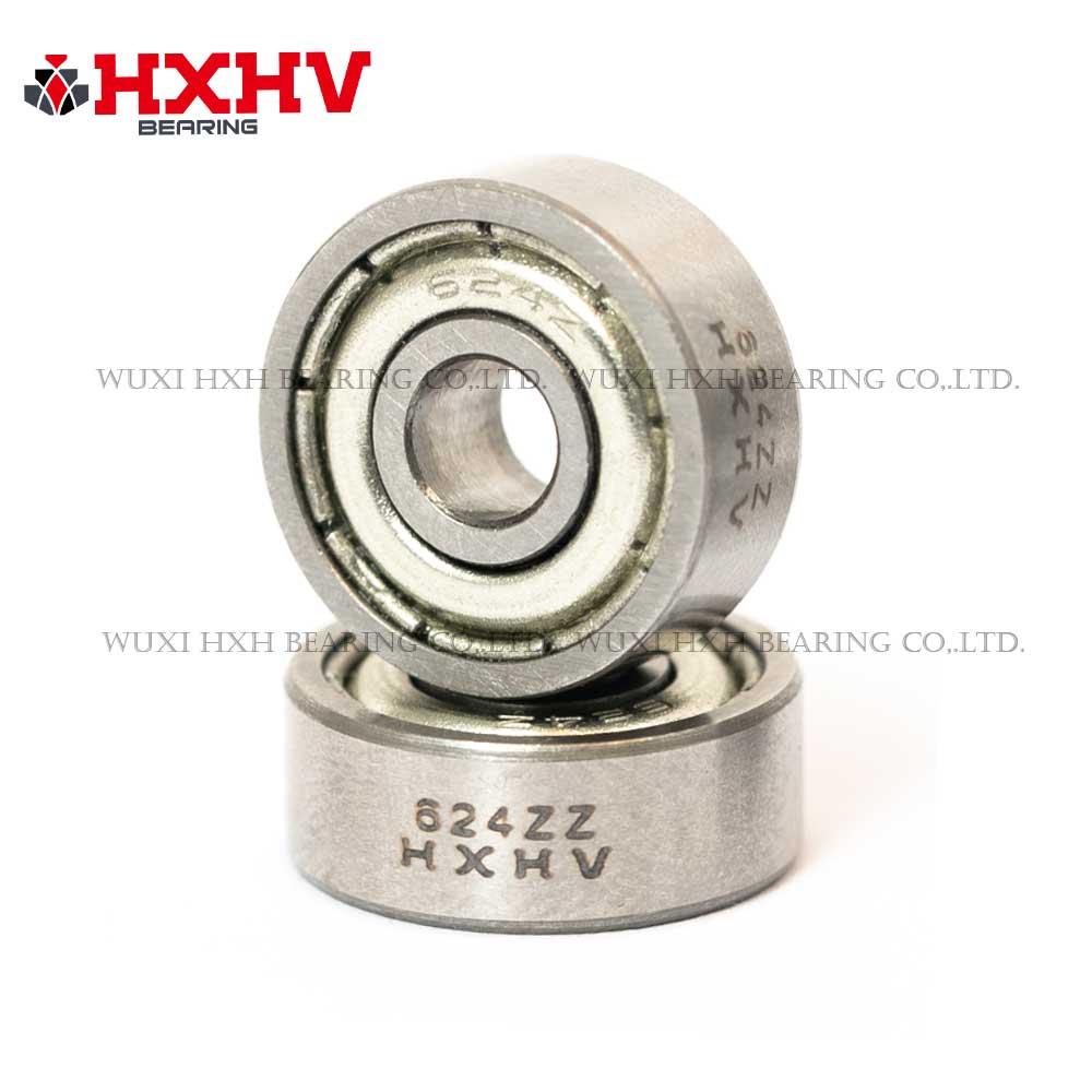 HXHV bearings 624ZZ deep groove ball bearing with size 4x13x5 mm