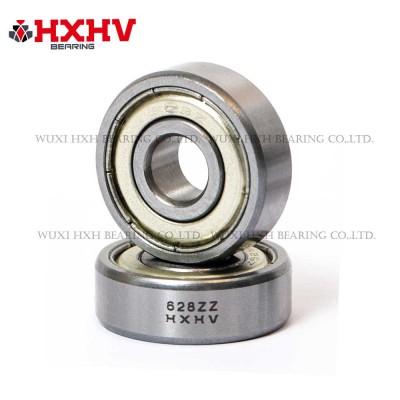 628zz with size 8x24x8 mm- HXHV Deep Groove Ball Bearing