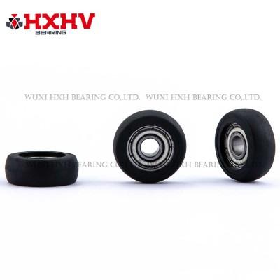 HXHV black sliding gate rollers