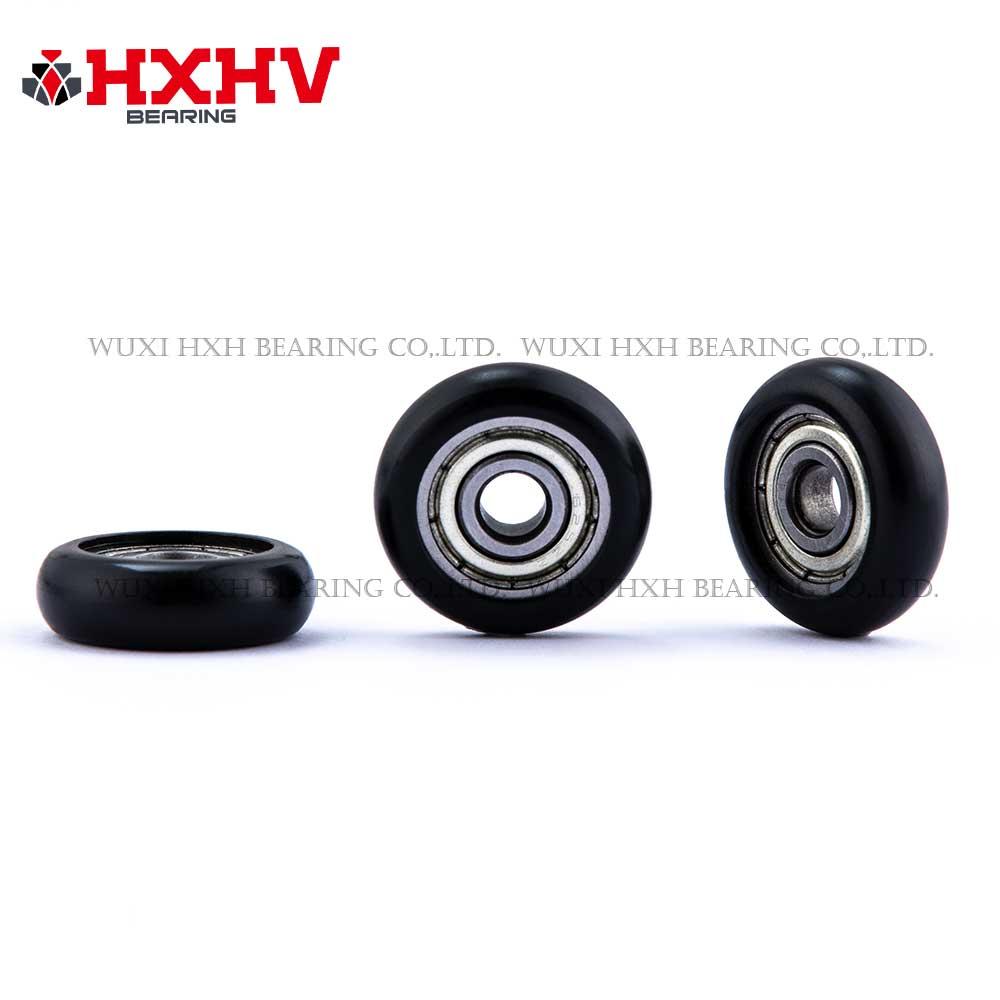 HXHV black sliding gate rollers (2)