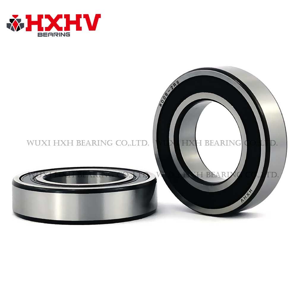 HXHV chrome steel ball bearing 6006-2RS with balck edge (1)