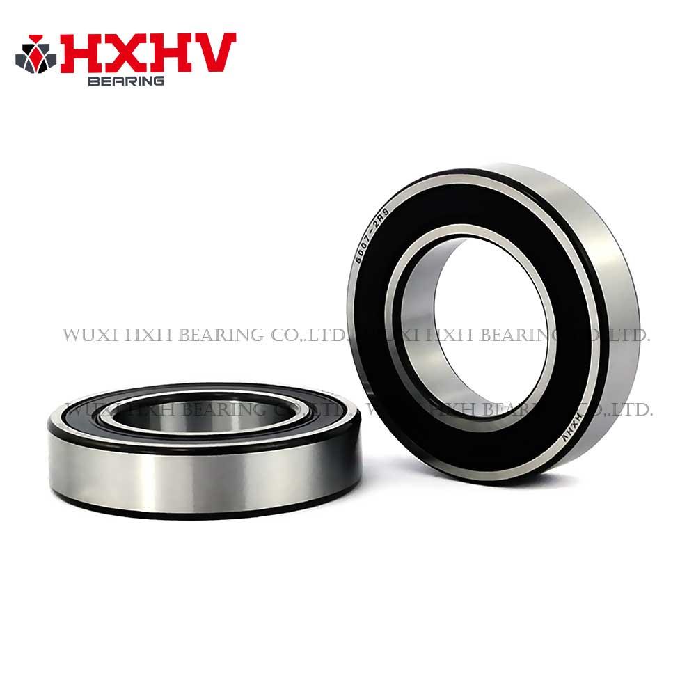HXHV chrome steel ball bearing 6007-2RS with black edge (1)
