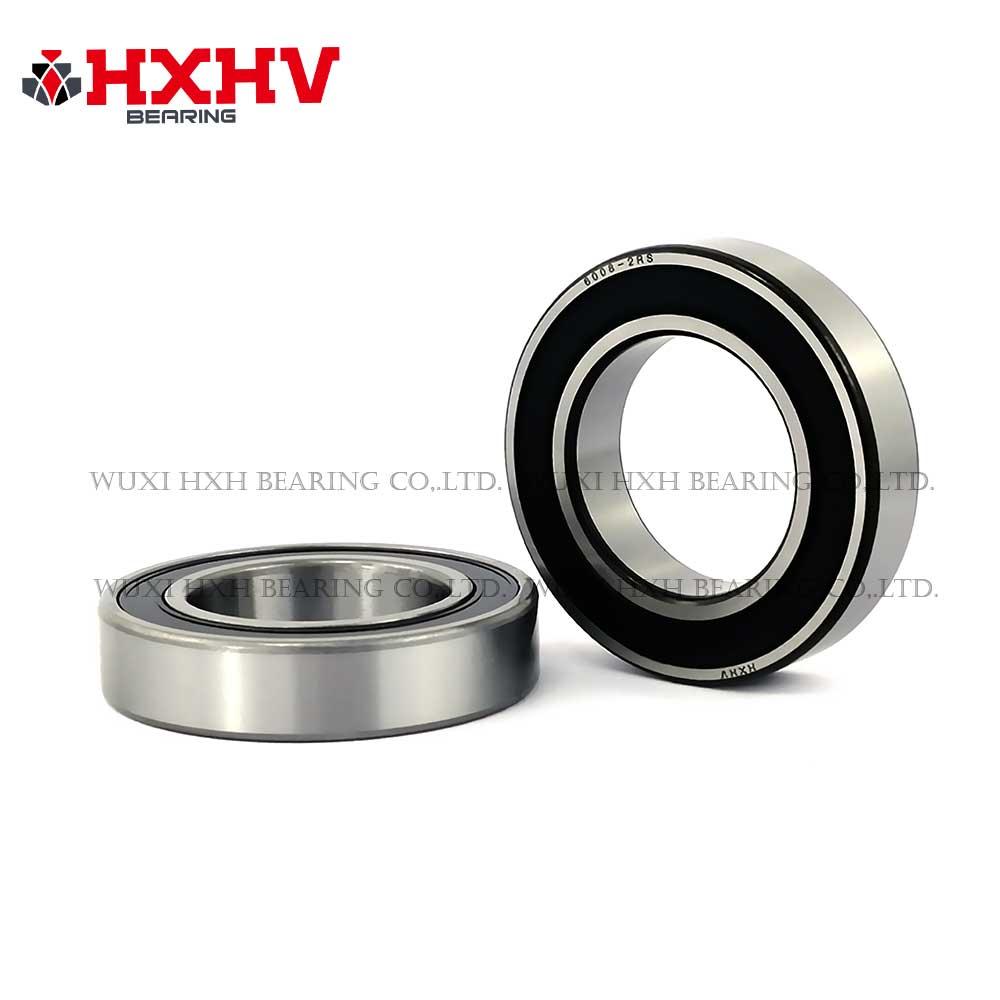 HXHV chrome steel ball bearing 6008-2RS with black edge (1)