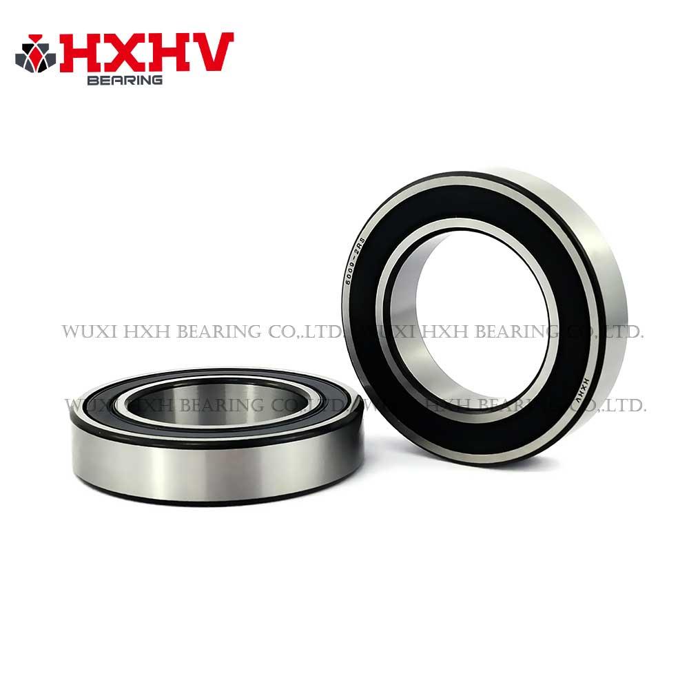 HXHV chrome steel ball bearing 6009-2RS with black edge (1)