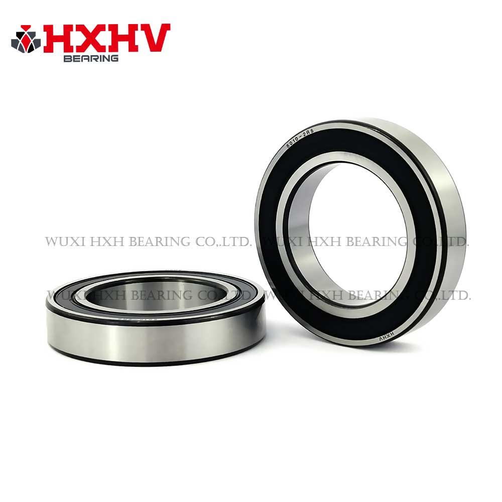 HXHV chrome steel ball bearing 6010-2RS with black edge (1)