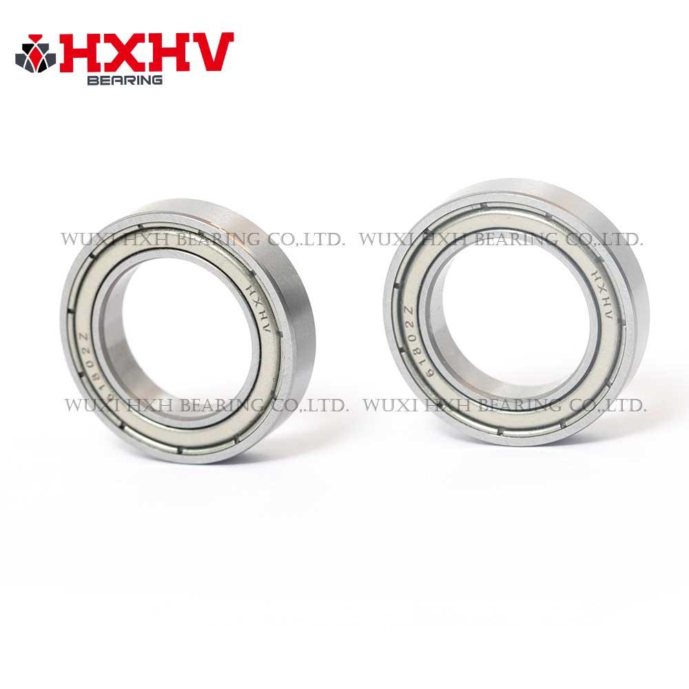 HXHV chrome steel ball bearing 61802 zz with size 15x24x5 mm