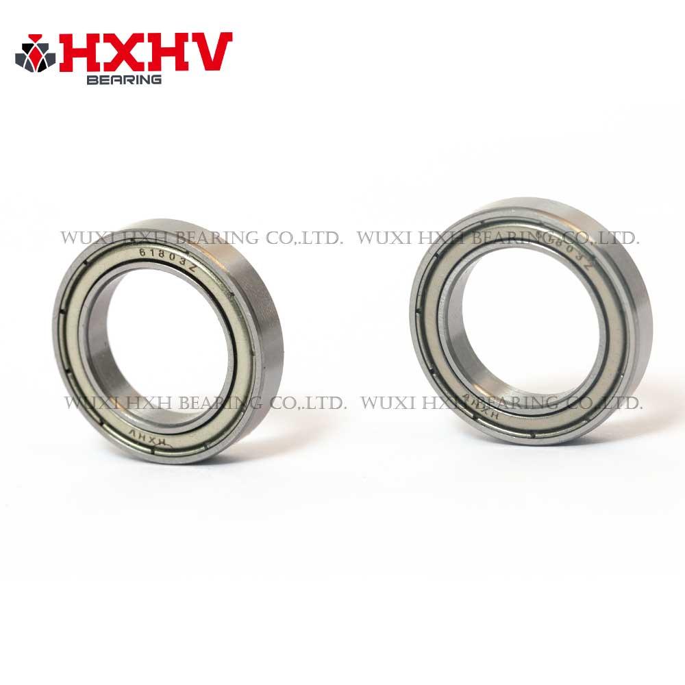 HXHV chrome steel ball bearing 61803 zz with size 17x26x5 mm