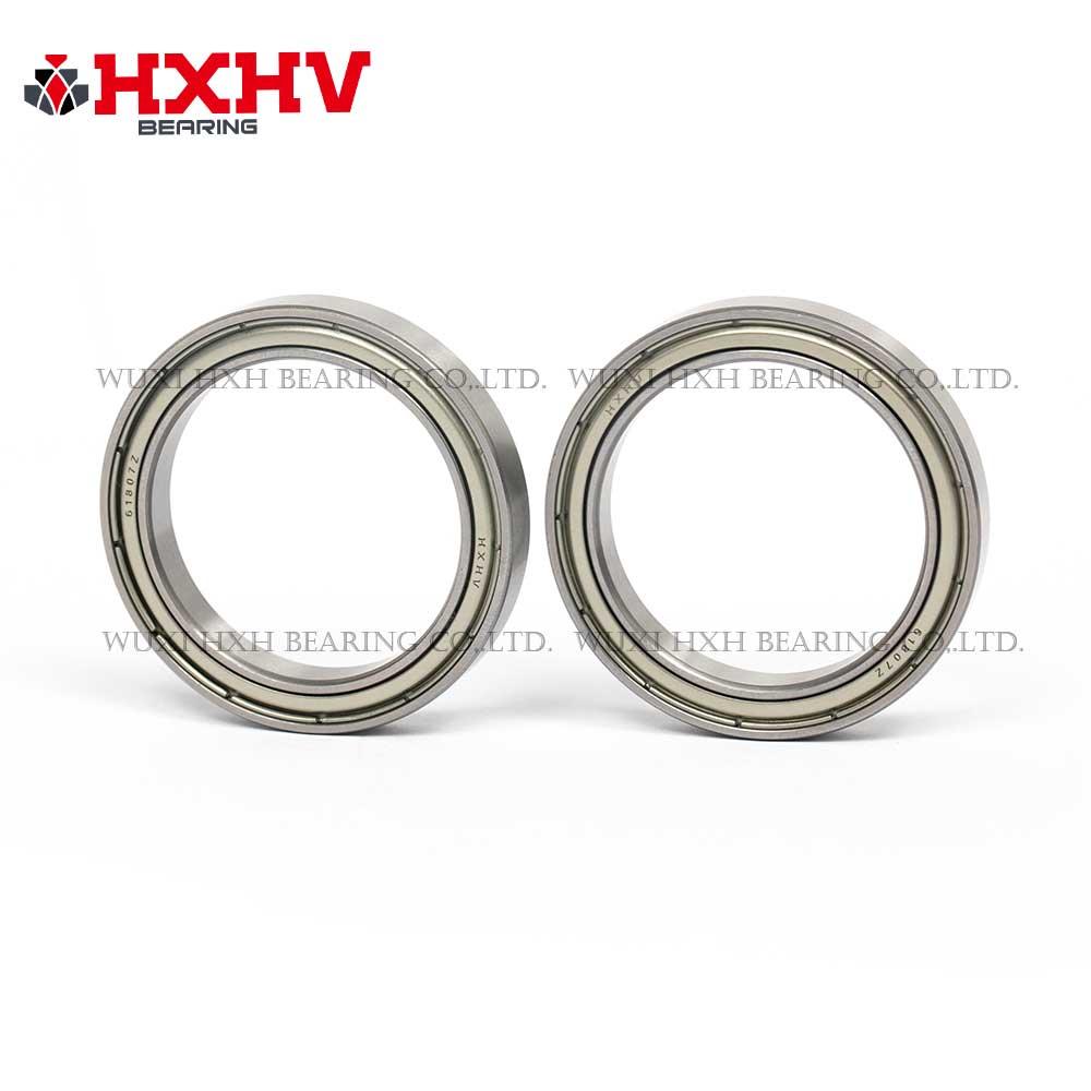 HXHV chrome steel ball bearing 61807 zz with size 35x47x7 mm