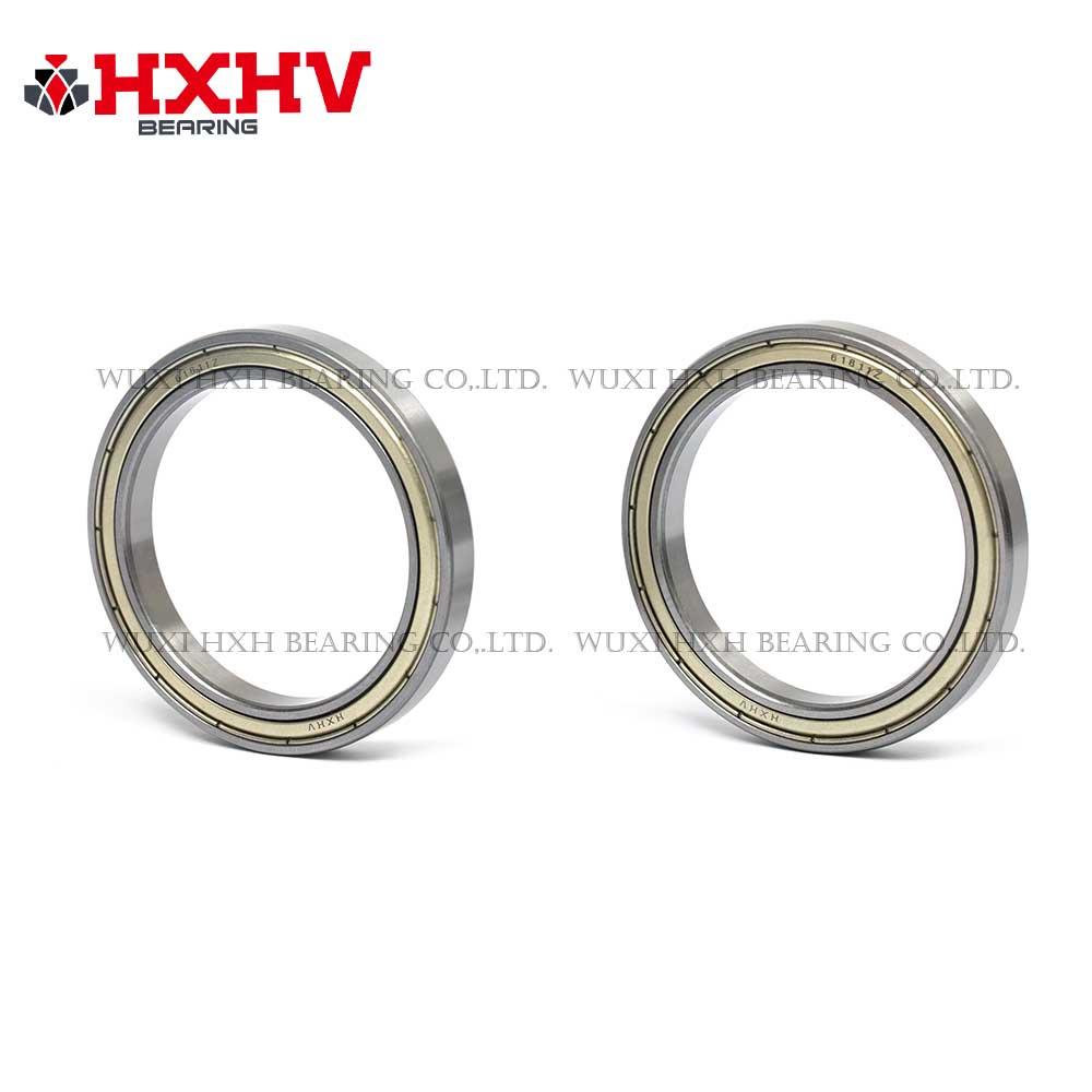 HXHV chrome steel ball bearing 61811 zz with size 55x72x9 mm