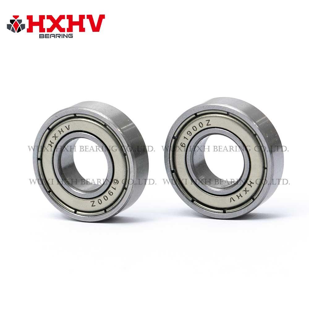 HXHV chrome steel ball bearing 61900 zz with size 10x22x6 mm