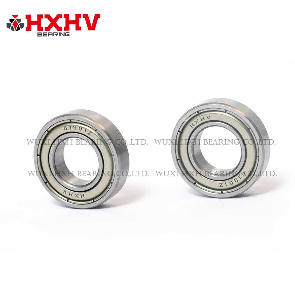HXHV chrome steel ball bearing 61901 zz with size 12x24x6 mm