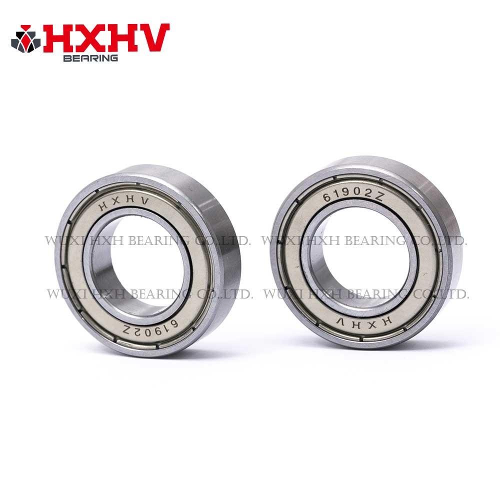 HXHV chrome steel ball bearing 61902 zz with size 15x28x7 mm
