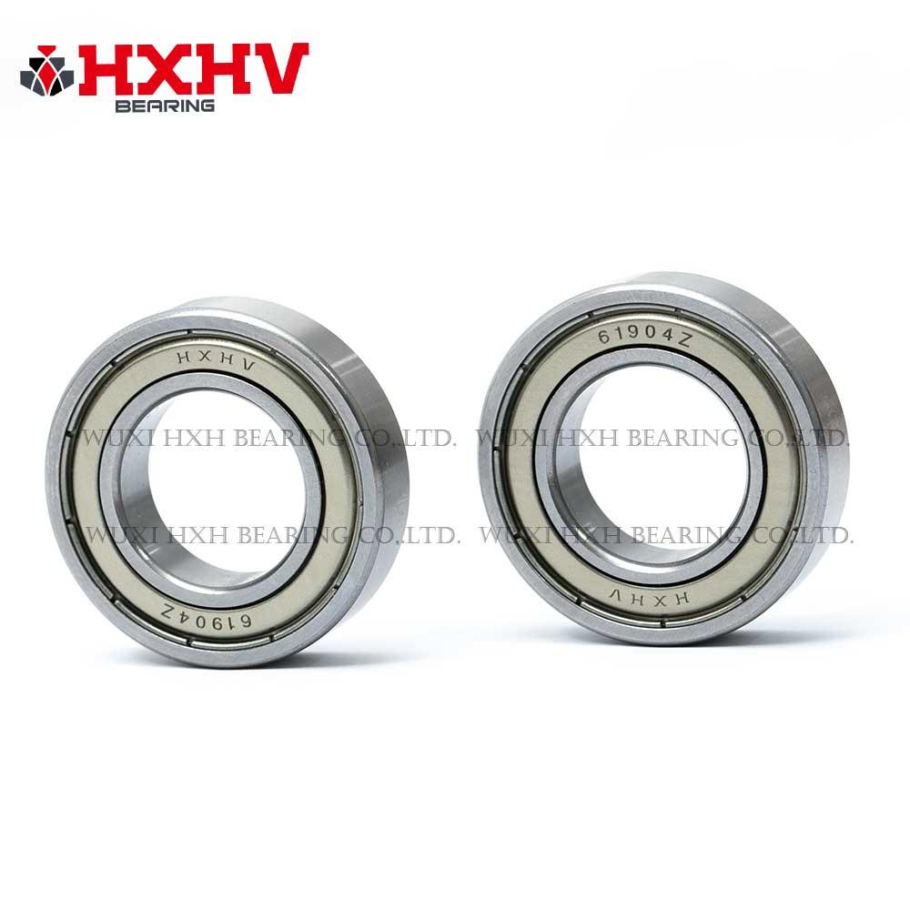 HXHV chrome steel ball bearing 61904 zz with size 20x37x9 mm