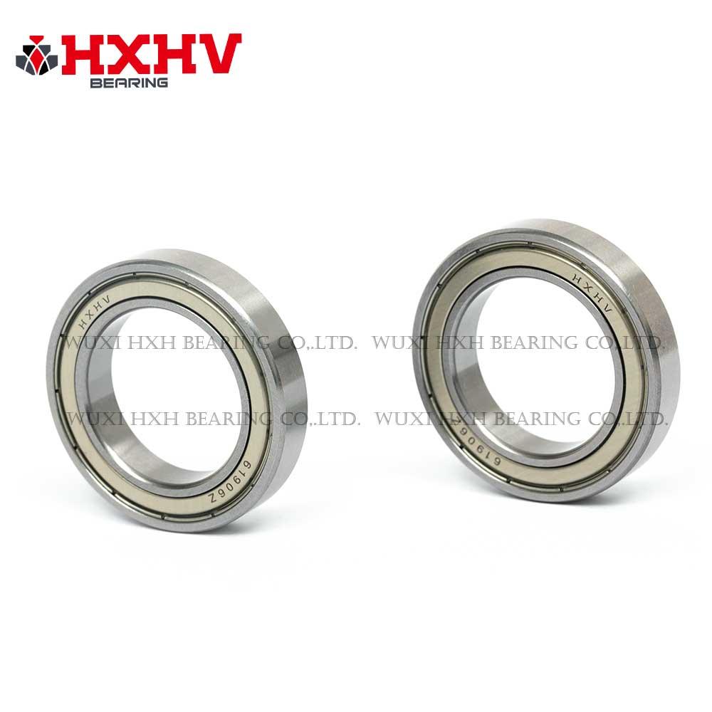 HXHV chrome steel ball bearing 61906 zz with size 30x47x9 mm