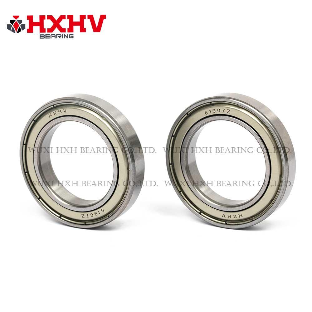 HXHV chrome steel ball bearing 61907 zz with size 35x55x10 mm