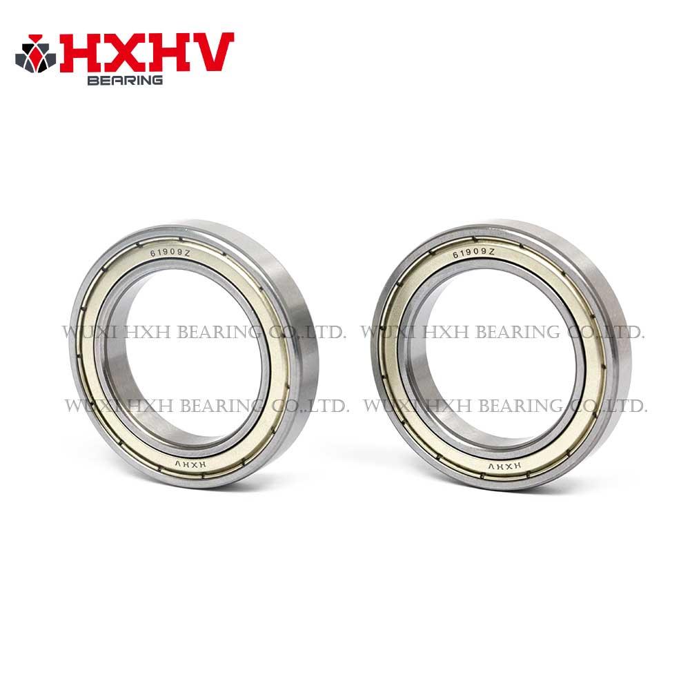 HXHV chrome steel ball bearing 61909 zz with size 45x68x12 mm