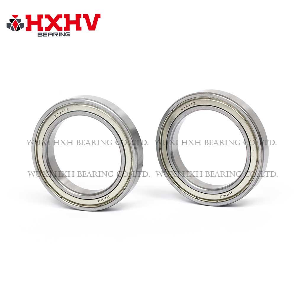 HXHV chrome steel ball bearing 61911 zz with size 55x80x13 mm