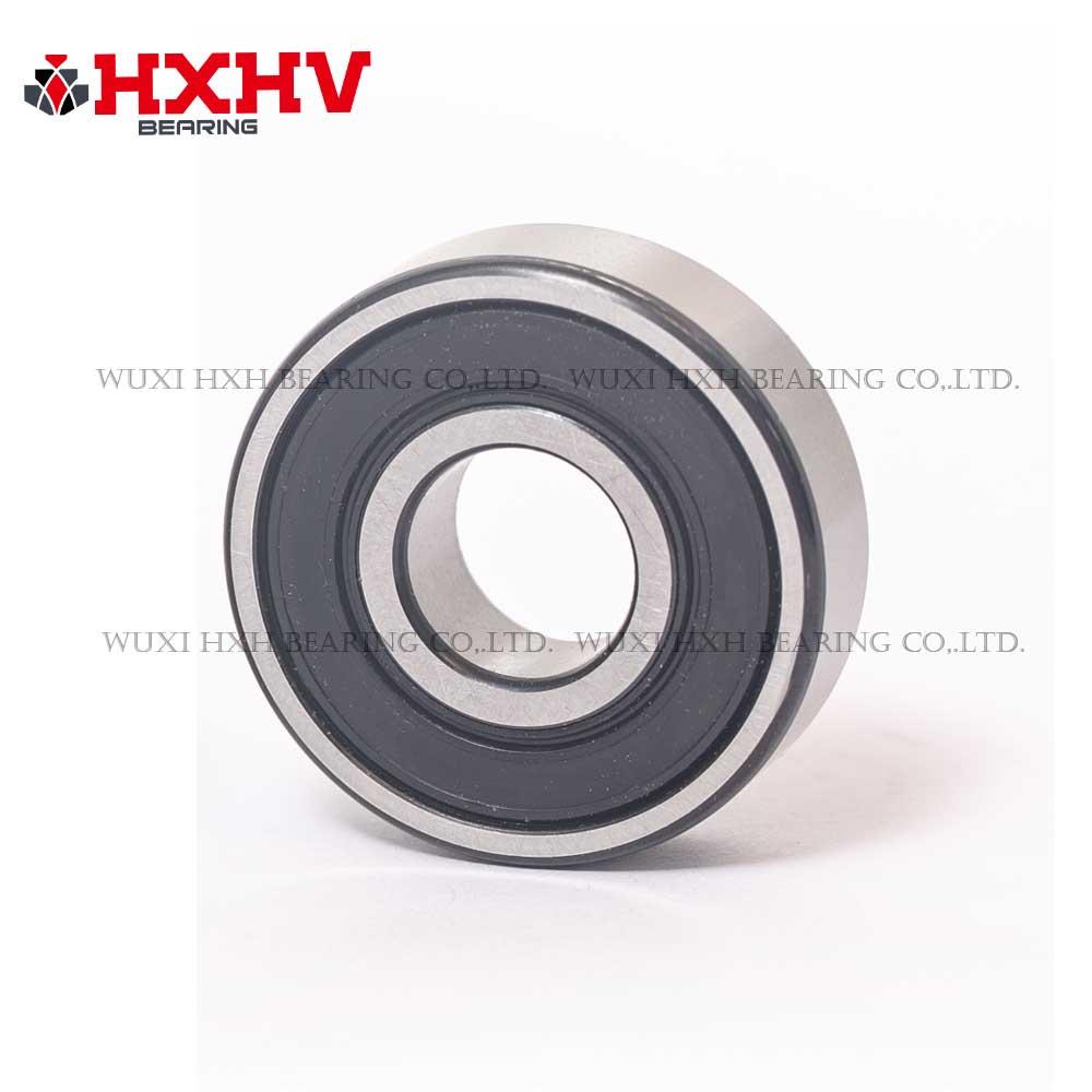 HXHV chrome steel ball bearing 6201-2RS with black edge