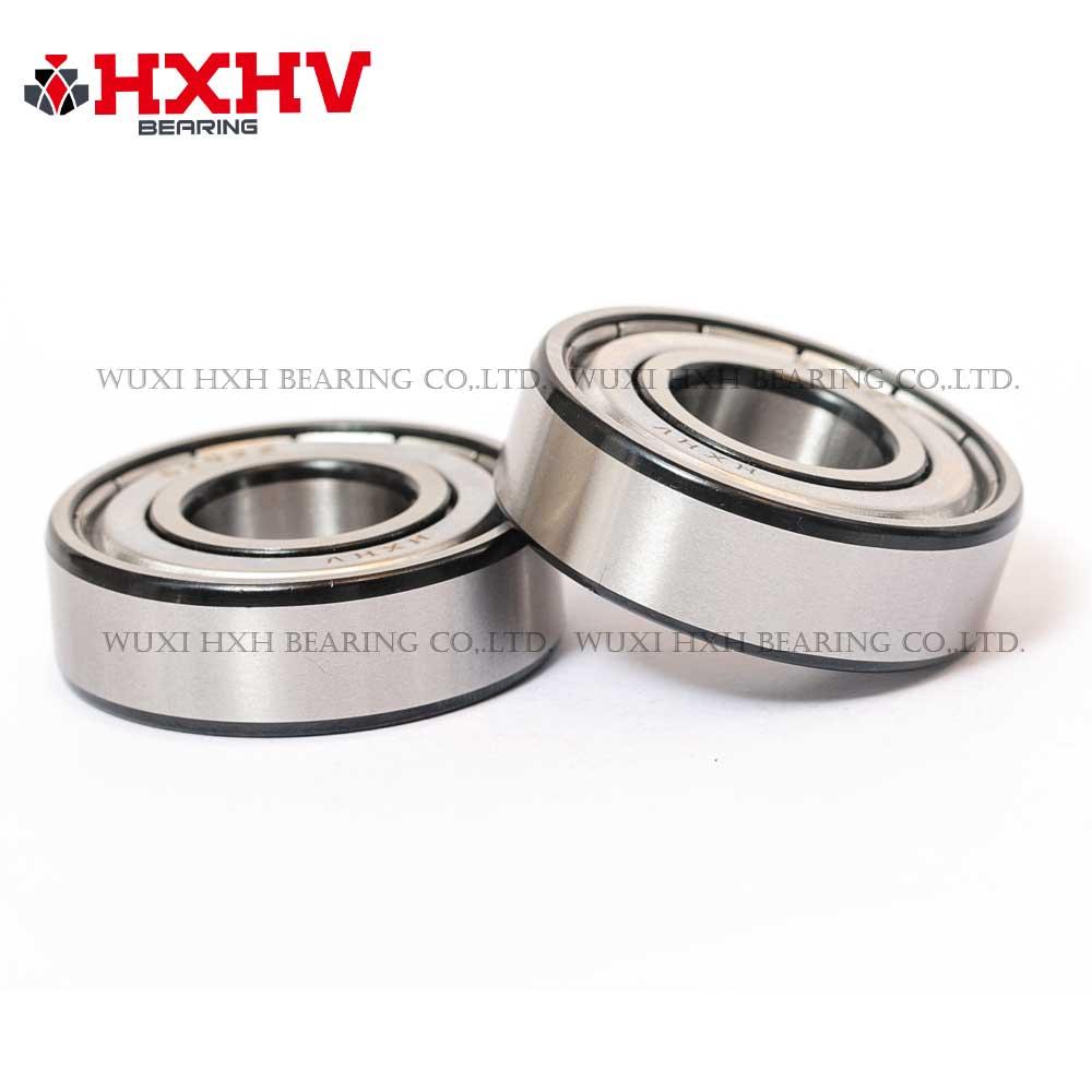 HXHV chrome steel ball bearing 6202-zz with black edge