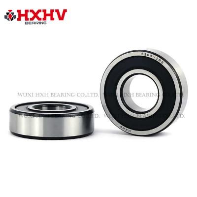 6204-2RS with black edge- HXHV Deep Groove Ball Bearing
