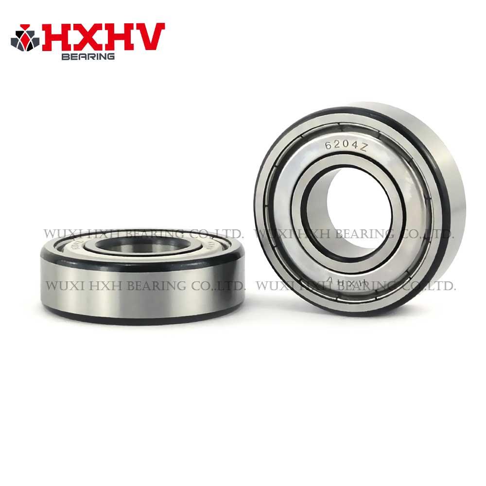 HXHV chrome steel ball bearing 6204zz with black edge (1)