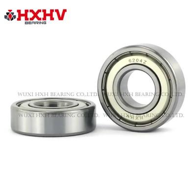 6204zz with size 20x47x14 mm- HXHV Deep Groove Ball Bearing