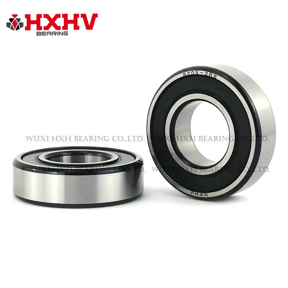 HXHV chrome steel ball bearing 6205-2RS with black edge (1)