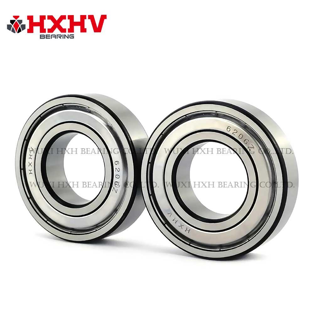 HXHV chrome steel ball bearing 6206zz with black edge (2)