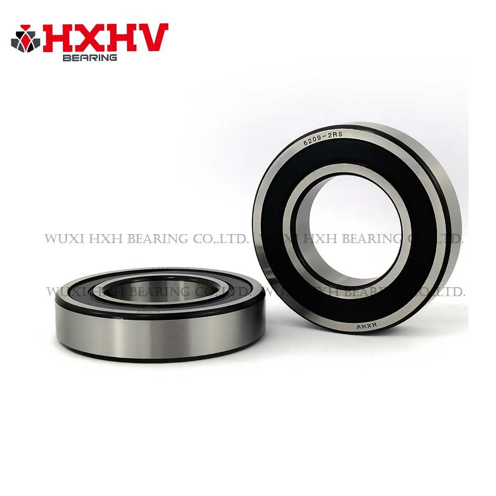 HXHV chrome steel ball bearing 6209-2RS with black edge (1)