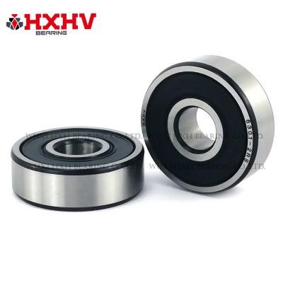 6301-2RS with black edge – HXHV Deep Groove Ball Bearing
