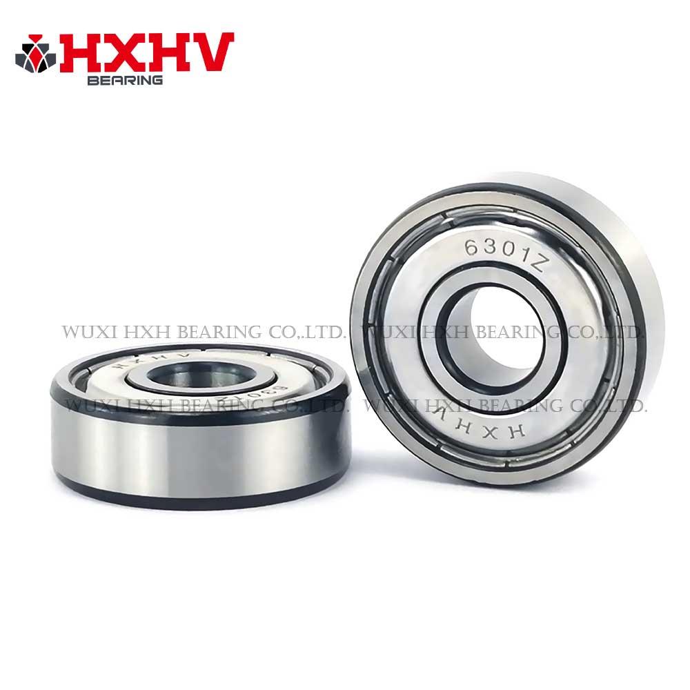 HXHV chrome steel ball bearing 6301zz  with black edge (1)
