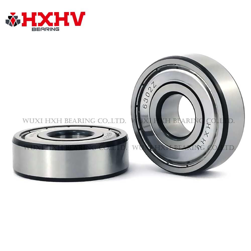 HXHV chrome steel ball bearing 6302zz with black edge (1)