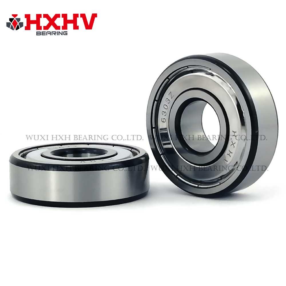 HXHV chrome steel ball bearing 6303zz with black edge (1)