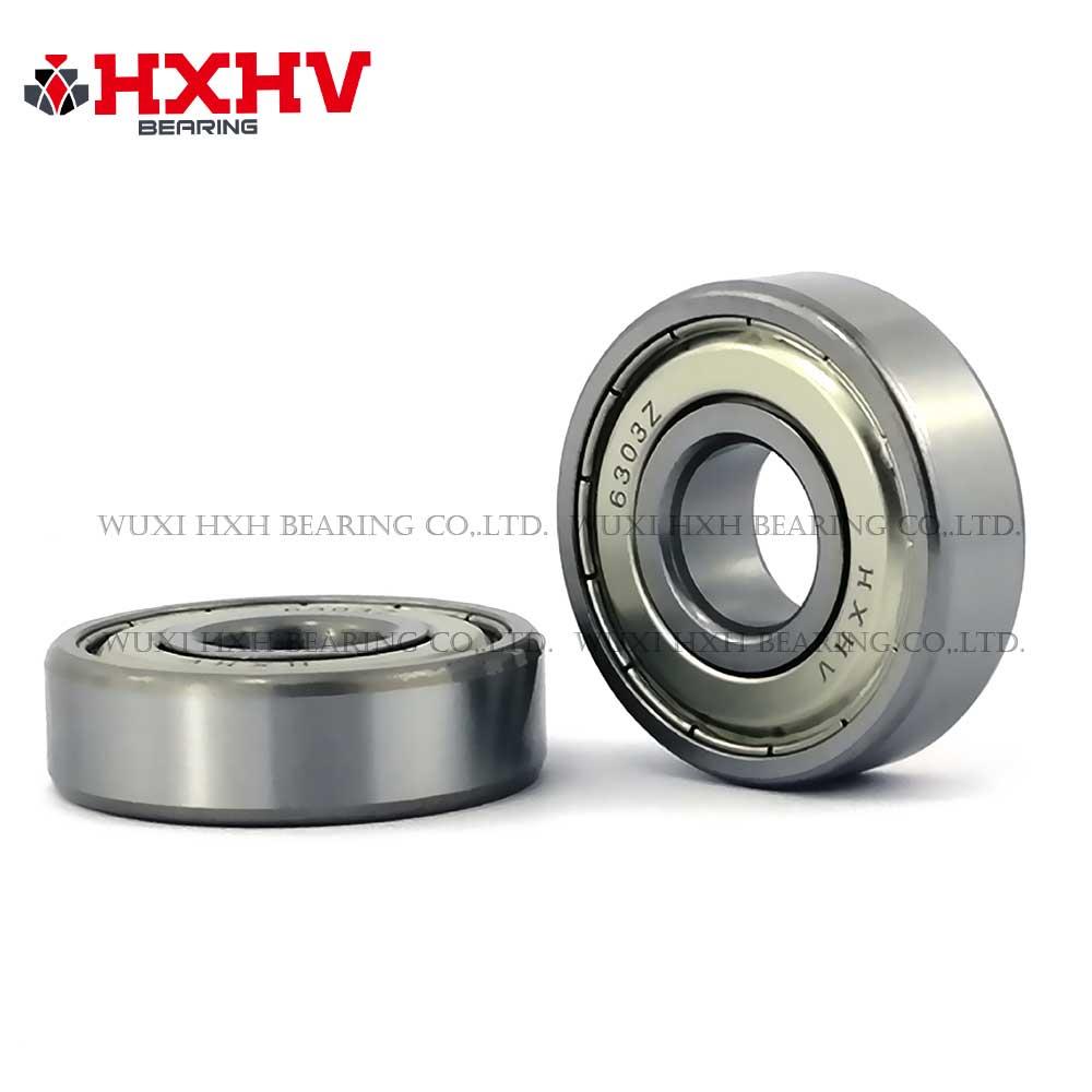 HXHV chrome steel ball bearing 6303zz with size 17x47x14 mm (1)